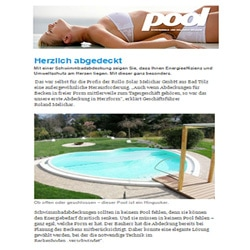 Pool Magazin - Rollo-Solar