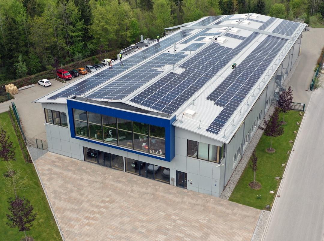 Das Gebäude der Rollo Solar Melichar GmbH